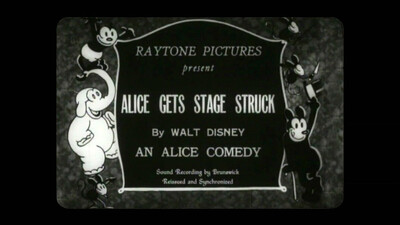 Alice Is Stage Struck Trailer