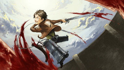 Attack on Titan Crimson Bow and Arrow Trailer
