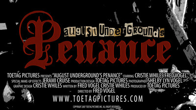 August Underground's Penance Trailer