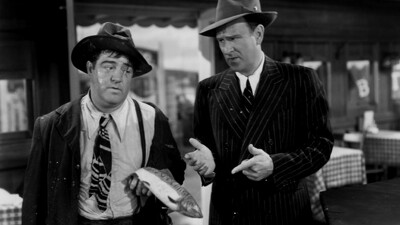Bud Abbott and Lou Costello in Hollywood Trailer