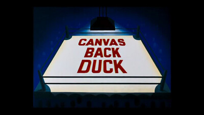 Canvas Back Duck Trailer