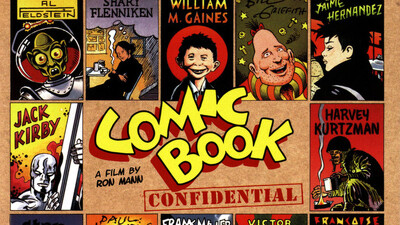 Comic Book Confidential Trailer