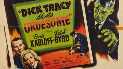 Dick Tracy Meets Gruesome Trailer