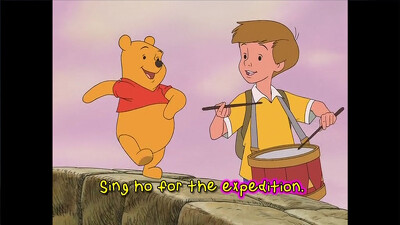 Disney Sing-Along-Songs: Sing a Song With Pooh Bear and Piglet Too Trailer