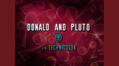 Donald and Pluto Trailer