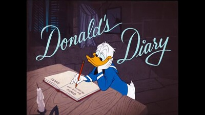 Donald's Diary Trailer