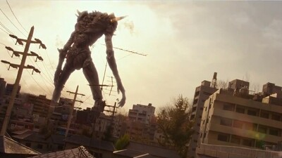 Giant God Warrior Appears in Tokyo Trailer