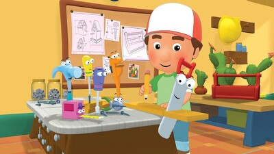 Handy Manny: Manny's Green Team Trailer