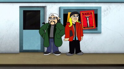 Jay And Silent Bob's Super Groovy Cartoon Movie Trailer