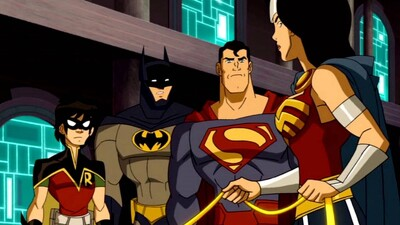 JLA Adventures: Trapped in Time Trailer