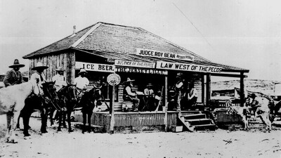 Judge Roy Bean Trailer