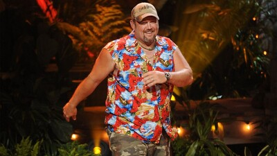 Larry the Cable Guy's Hula-Palooza Christmas Luau Trailer