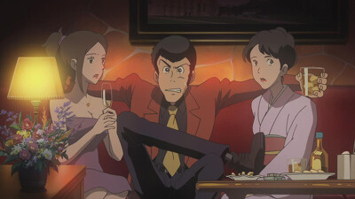 Lupin the Third: Green vs Red Trailer