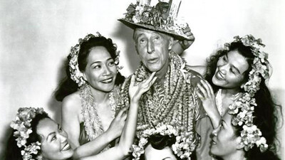 Ma and Pa Kettle at Waikiki Trailer