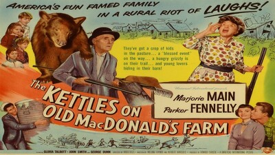 Ma and Pa Kettle in The Kettles on Old MacDonald's Farm Trailer