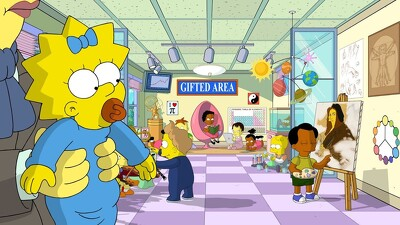 Maggie Simpson in The Longest Daycare Trailer