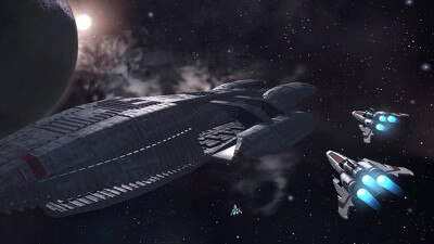 Mission Galactica: The Cylon Attack Trailer