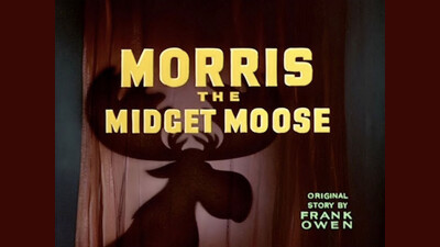 Morris the Midget Moose Trailer