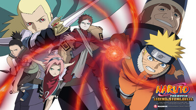 Naruto the Movie 2: Legend of the Stone of Gelel Trailer