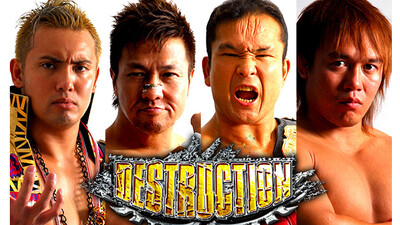 NJPW Destruction 2013 Trailer