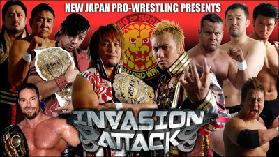 NJPW Invasion Attack 2013 Trailer