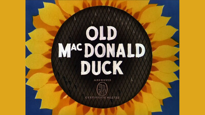 Old MacDonald Duck Trailer