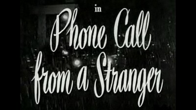 Phone Call from a Stranger Trailer