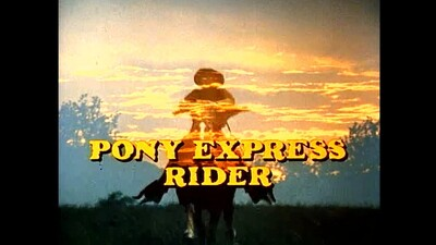 Pony Express Rider Trailer