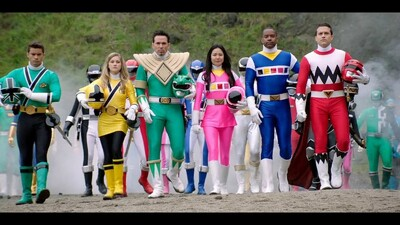 Power Rangers Super Megaforce: The Legendary Battle Trailer