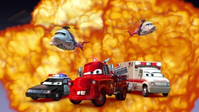 Rescue Squad Mater Trailer