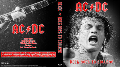 Rock Goes To Collage: AC/DC Trailer
