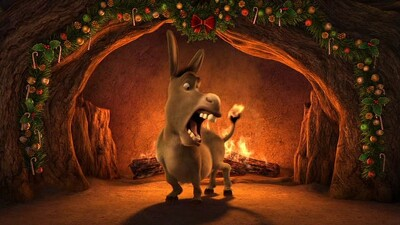 Shrek's Yule Log Trailer
