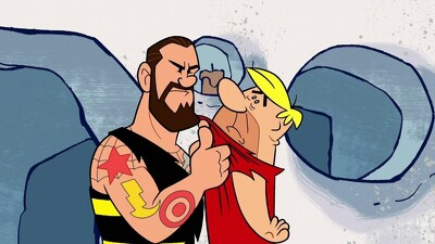 The Flintstones & WWE: Stone Age Smackdown Trailer
