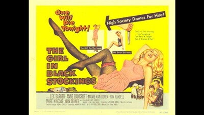 The Girl in Black Stockings Trailer