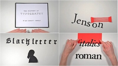 The History of Typography Trailer