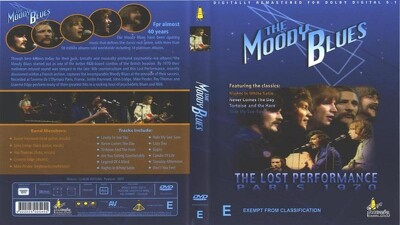 The Moody Blues - The Lost Performance: Live In Paris '70 Trailer