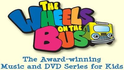 The Wheels on the Bus Video: Mango's Big Dog Parade Trailer