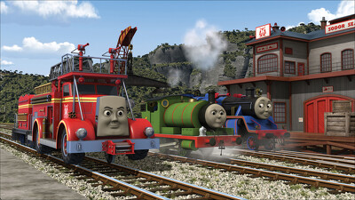 Thomas & Friends: Rescue on the Rails Trailer