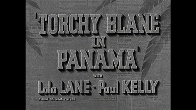 Torchy Blane in Panama Trailer