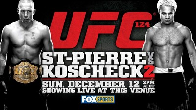 UFC 124: St-Pierre vs. Koscheck 2 Trailer