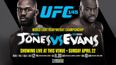 UFC 145: Jones vs. Evans Trailer