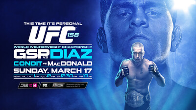 UFC 158: St-Pierre vs. Diaz Trailer