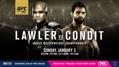UFC 195: Lawler vs. Condit Trailer