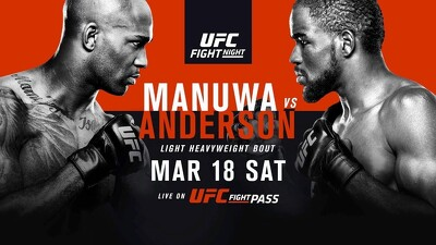 UFC Fight Night 107: Manuwa vs. Anderson Trailer