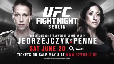 UFC Fight Night 69: Jedrzejczyk vs. Penne Trailer