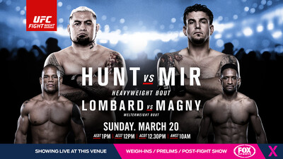 UFC Fight Night: Hunt vs. Mir Trailer