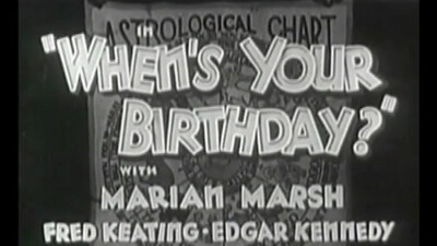 When's Your Birthday? Trailer