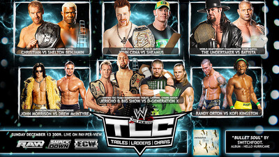 WWE TLC: Tables Ladders & Chairs 2009 Trailer