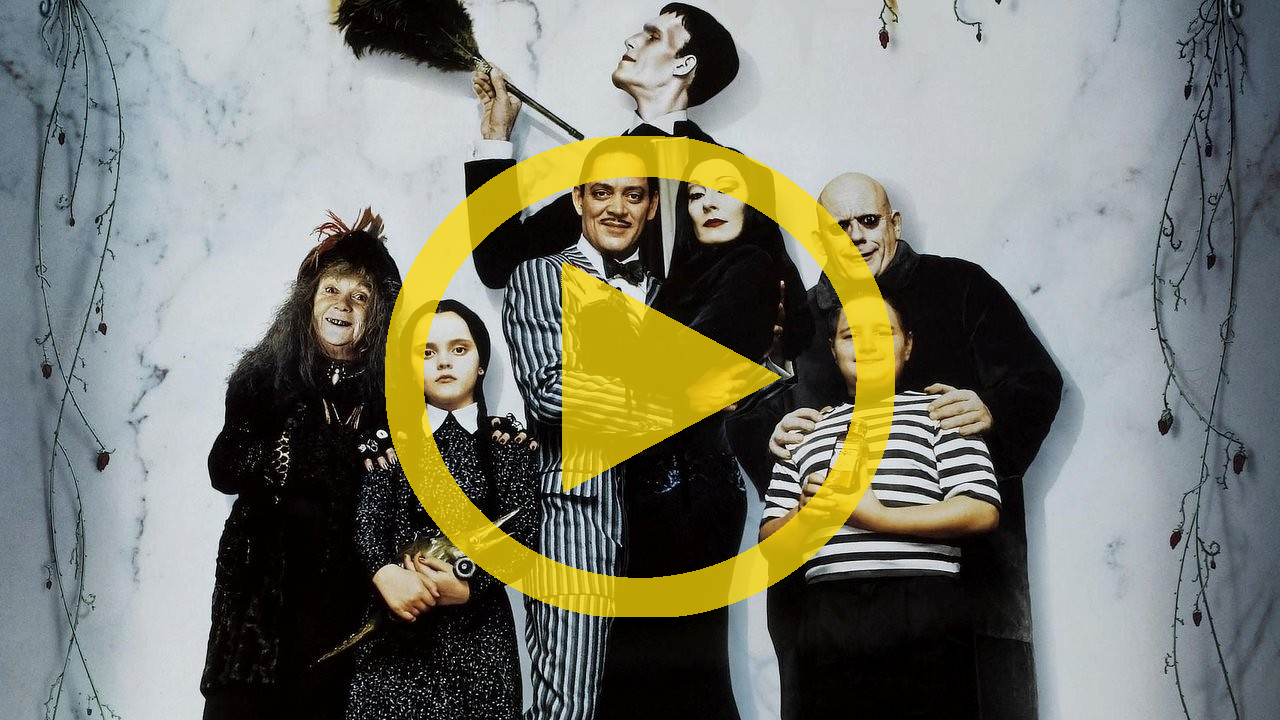 the addams family meet vips with elizabeth