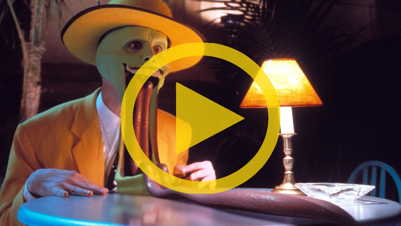 The mask 1994 official hd trailer for The mask photos gallery
